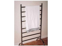 Thermorail free standing heated towel rails available from Thermonet Underfloor Heating