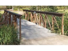 Timber Truss Bridges from Landmark Products