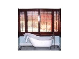 Timber Venetians available from Decor Blinds