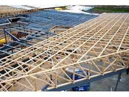 Timber fabrication and steel construction work in harmony with MiTek Australia