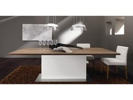 Transforma offers Practical and Stylish Dining with ET 1500 Dining Tables by Hülsta