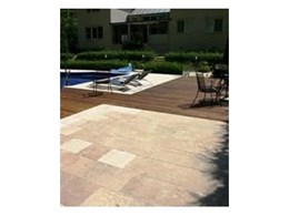 Tumbled pavers available from Phoenician Stone