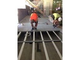UBIQ floor and wall products part of Randwick racecourse and road projects
