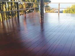 UBIQ's INEX>MAXIDECK composite decking delivers timber deck look in bed & breakfast