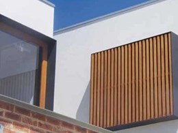 UBIQ's INEX>RENDERBOARD wall system meets lightweight construction need at Bronte home