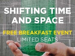 Shifting Time and Space – Now in Perth. Free breakfast event