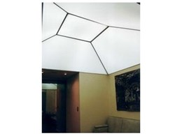 Ultra light ceiling material from Austral Services Asia