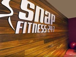 Urbanline Architectural's Newport hardwood cladding a standout feature at Snap Fitness