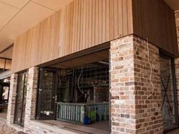 Urbanline composite cladding delivers weathered look to Bribie Island resort