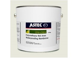 Ure-plex waterproofing membranes distributed by Astec Paints Australasia