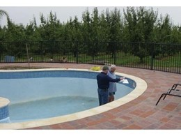 Mainmark injects Uretek resin to help re-level sunken luxury swimming pool