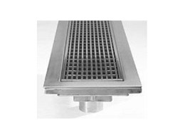 VC155-45 vinyl clamp lineal grates for vinyl floors now available from Stormtech