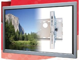 VM-T140 tilting flat screen wall brackets from Canohm