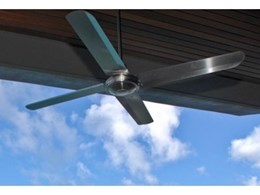 Vast array of outdoor ceiling fans available through Hunter Pacific
