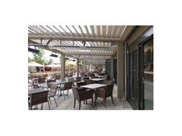 Vergola louvre roofing systems breathe fresh air into businesses