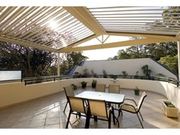 Vergola's opening and closing louvre roof design options