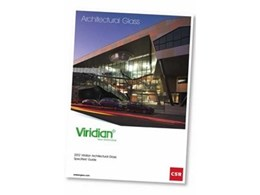 Viridian unveils the 2012 edition of the Architectural Glass Specifiers Guide