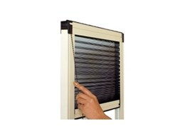 Visionair Pleated, Retractable Insect Screens available from National Screens