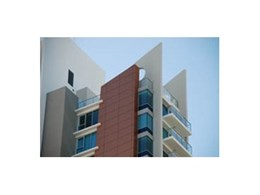 Vitrabond aluminium composite panels from Fairview used in Breaker St Units
