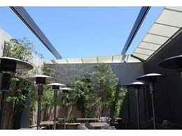 Viva retractable roof systems creating alfresco areas at Woollahra Hotel