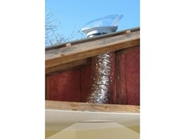 WD SkyVent / Ventalite tubular skylights from Environmental Sciences Australia also function as ventilators