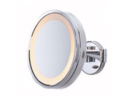Wall mounted halo vanity unit mirrors available from Weatherdon Corporation