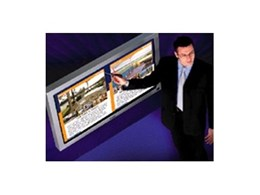 Wall mounted interactive touch screens from Creative Display Solutions