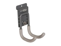 Wall storage hooks for use with storeWALL available from Garageworks
