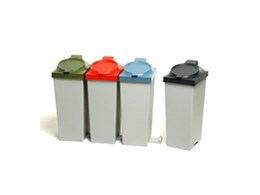 Waste recycling bins available from Weatherdon Hotel Supplies