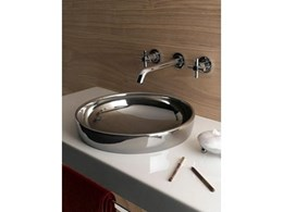 Water Jewels metallic washbasins
