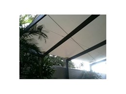 Water Seal Shade Sails available from Pattons Awnings