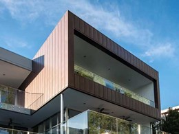 Aluminium cladding creates distinctive feature on Western Rivers residence exterior