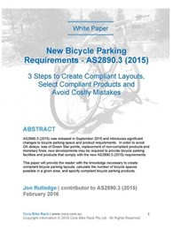 New white paper explains compliant bicycle parking design