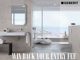 Win back your Houses Awards entry fee if your bathroom features a Geberit product