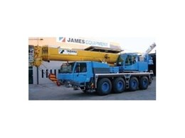 Wollongong Cranes expand fleet with James Equipment's Tadano ATF 65G-4 all-terrain crane