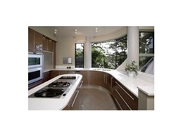 Wonderful Kitchens design a complementary curved kitchen