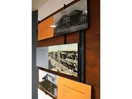 Wood & Wood Sign Systems provide wayfinding signage and signage manual for Heritage Wall