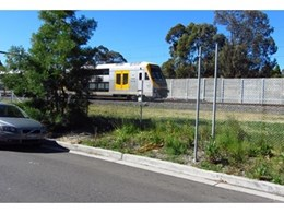 Woodtex noise absorbers used by Rail Corp for Southern Freight Link Rail Corridor