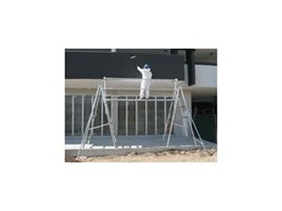 Work platforms by G.James Glass & Aluminium