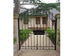 Wrought Iron Pedestrian Gates available from Art of Stone