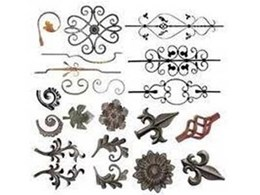 Wrought iron components by Melbourne-based Chatterton Lacework