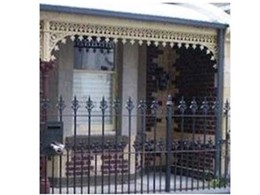 Wrought iron lacework in Australian heritage architecture