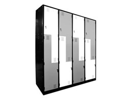 Z-door lockers from Davell Products