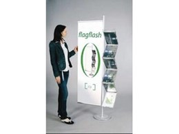 ZigZag Zip brochure holder display unit from Face Visual Marketing Group