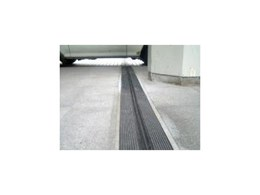 Zip Block car park expansion joint system available from Construction Specialties - C/S