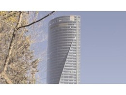 Zumtobel's Luxmate professional lighting management system featured in Madrid's Torres Espacio