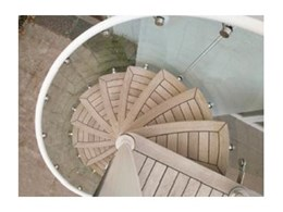 enzie spiral staircases available from Enzie Stairs