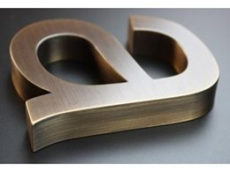 fabricate3D metal fabrication for signage available from S2K Identity Systems