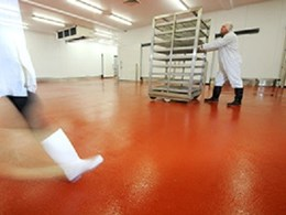 New Flowcrete MMA resin mortar completes cold room repairs in just 30 minutes