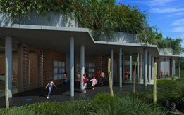 Donaldson + Warn's design revealed for Kings Park environmental awareness centre